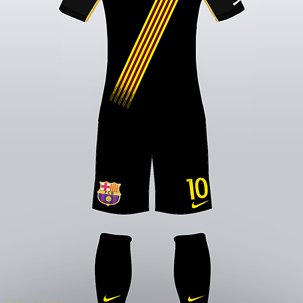 FC Barcelona 2016/17 Third Kit