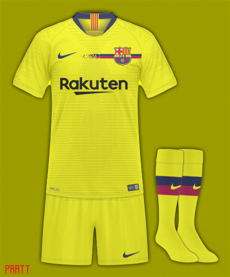 FC Barcelona Away Concept Kit