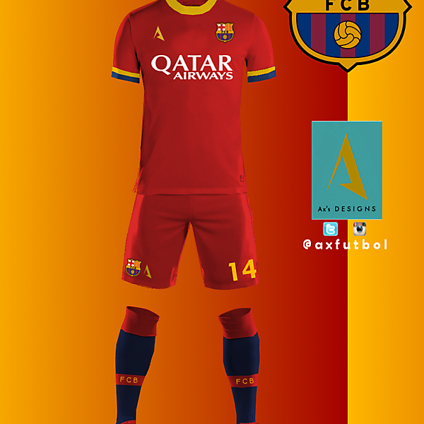 FC BARCELONA AWAY KIT