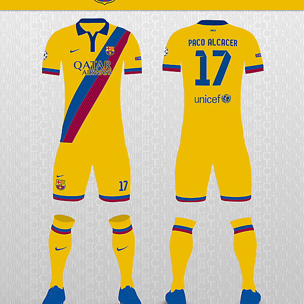 FC Barcelona Away (reworked)