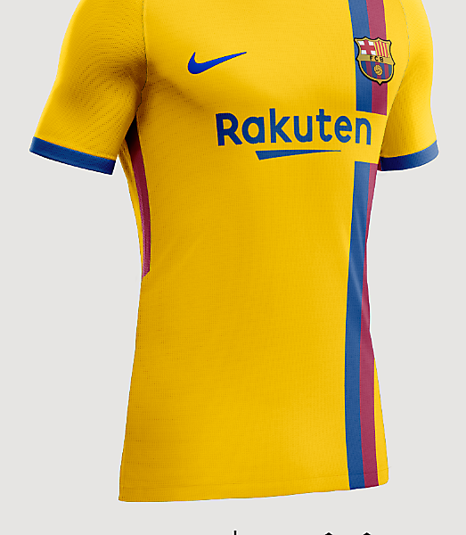 FC Barcelona Away Shirt 2018/2019