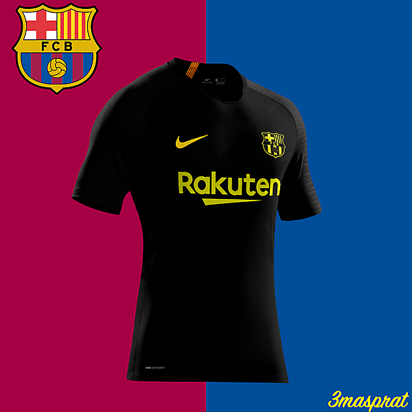 FC Barcelona Black Concept Kit