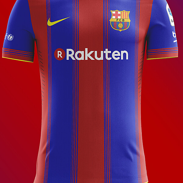 FC Barcelona Home Concept 2018