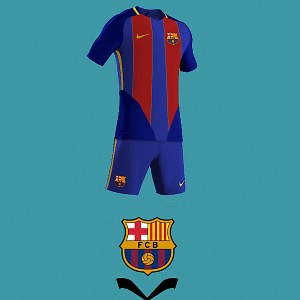 FC Barcelona home kit design