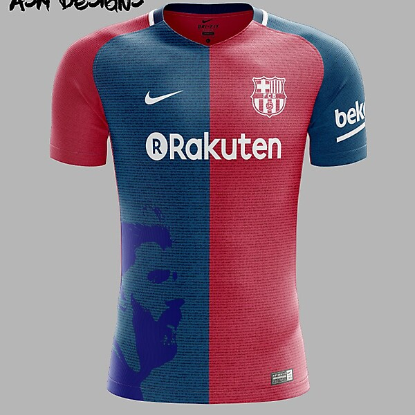 FC Barcelona Nike 2018 Home Kit