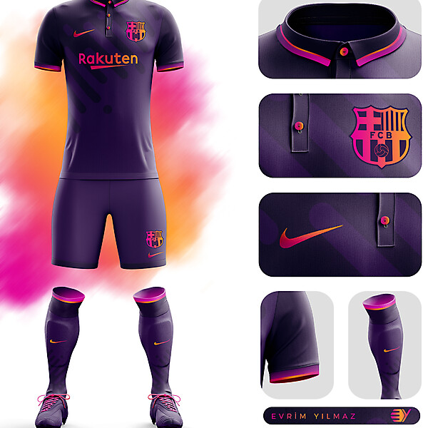 FC Barcelona Third Kit Design