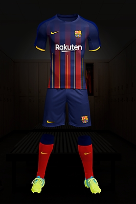 Fc Barcelone kit Home