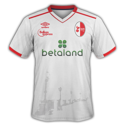 FC Bari Kit sponsor disposition 2