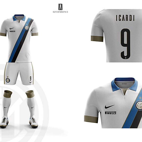 FC Internazionale AWAY  Kit 2016-17 | Concept/Unofficial