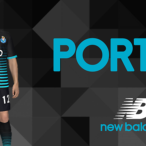 FC PORTO new balance kit Away