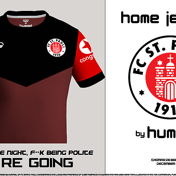 FC SANKT PAULI HOME JERSEY PREVIEW