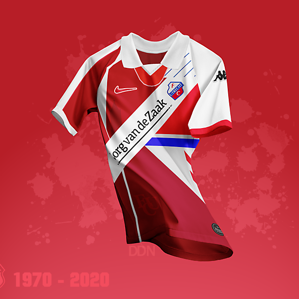 FC Utrecht 50 Year Anniversary Mash-up Kit