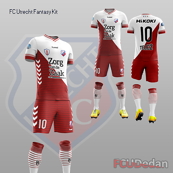 FC Utrecht Fantasy Home Kit Design