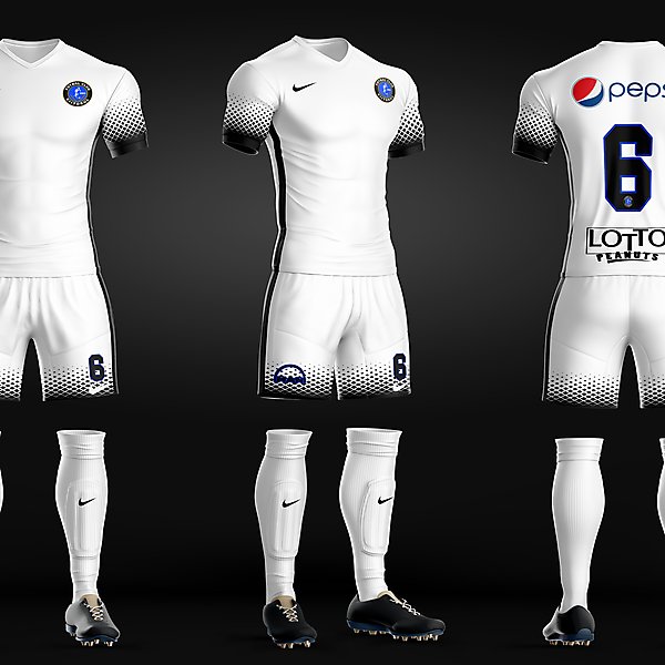 FC Viitorul - Away kit recreated