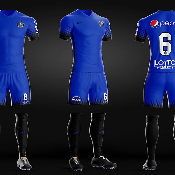 FC Viitorul - Home kit recreated
