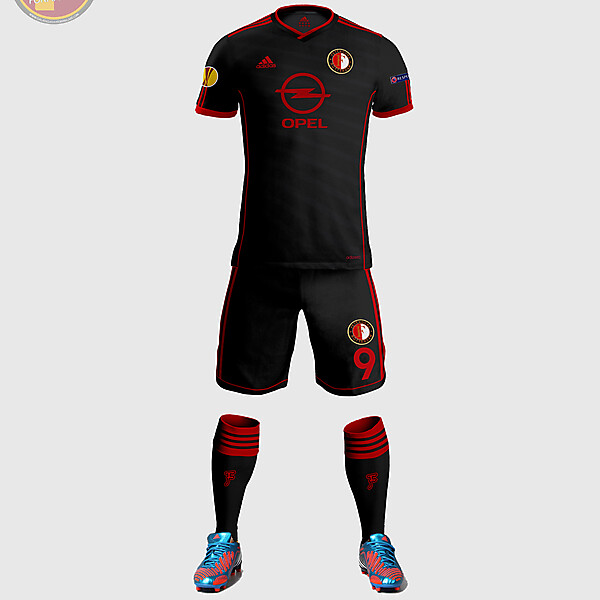 Feyenord Away Kit Design