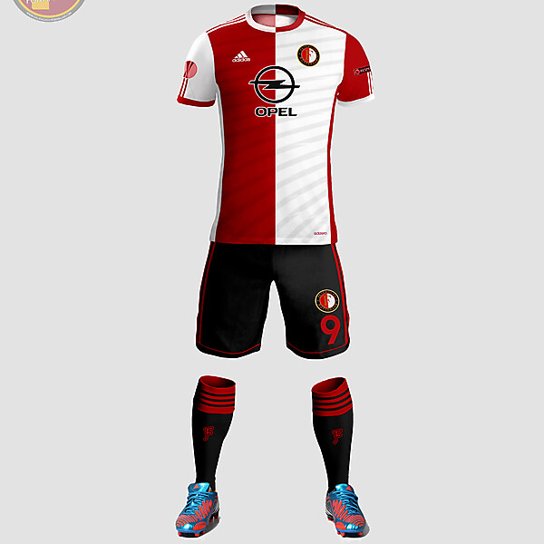 Feyenord Home Kit Design
