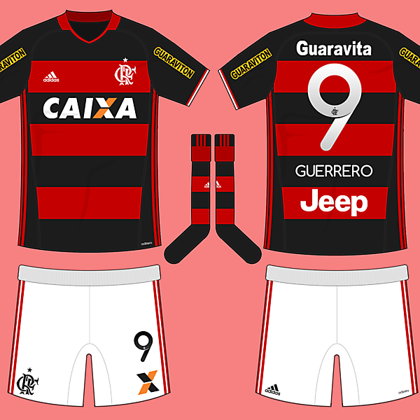 Flamengo 16/17 Home Kit