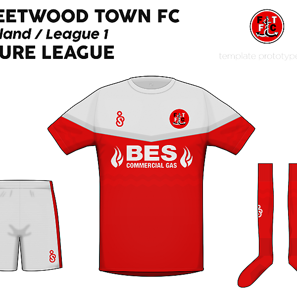 Fleetwood Town FC - Azure League submission