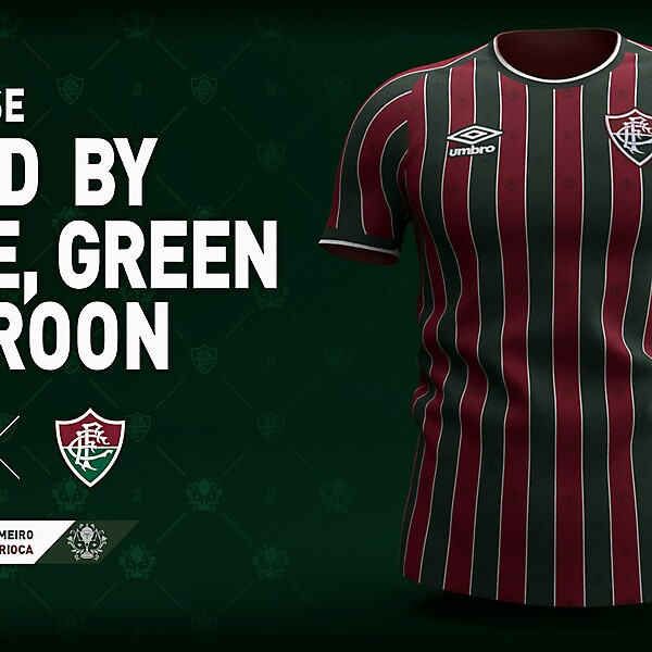 Fluminense Umbro 2021 / Concept Kit