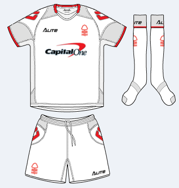 Nottingham Forest Away kit