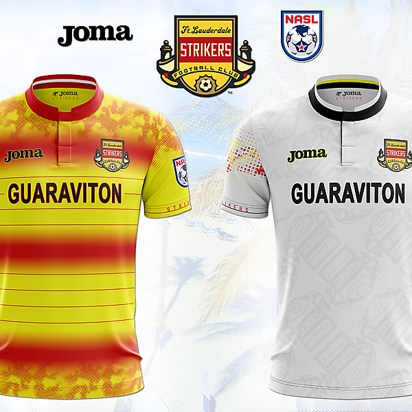 FORT LAUDERDALE STRIKERS KITS