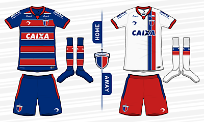 Fortaleza EC Home and Away kits