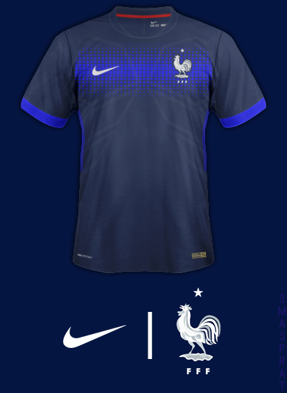 France Home Fantasy Kit