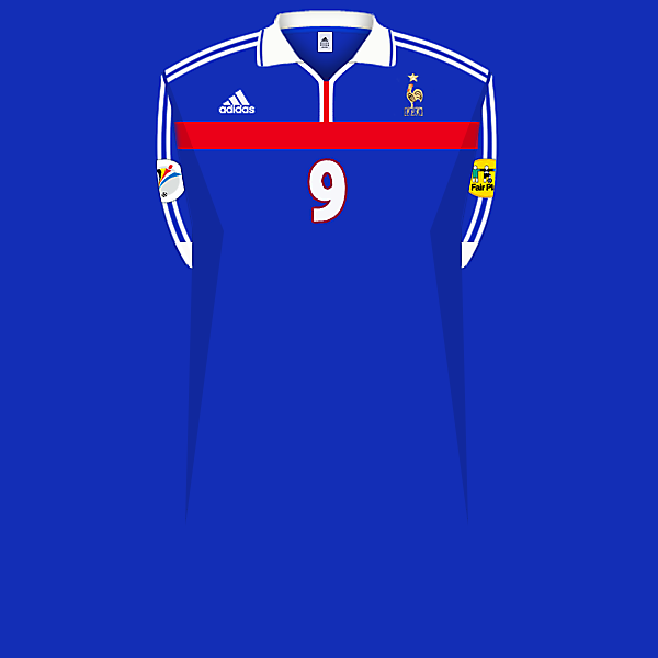 France 2000 home jersey.