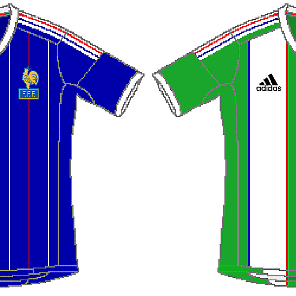 France Adidas Home and Away