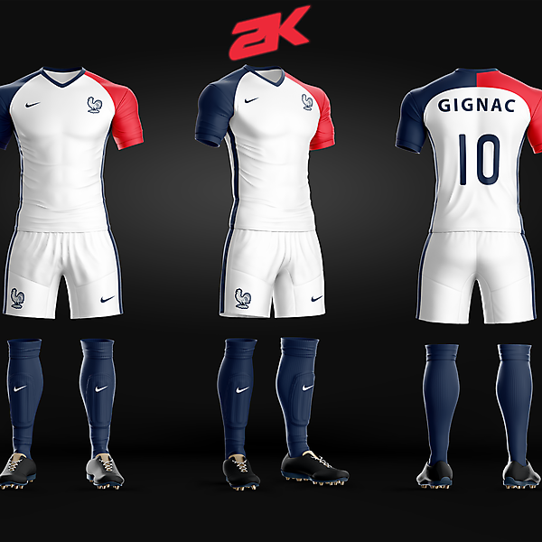 France Away Kit - Recreated
