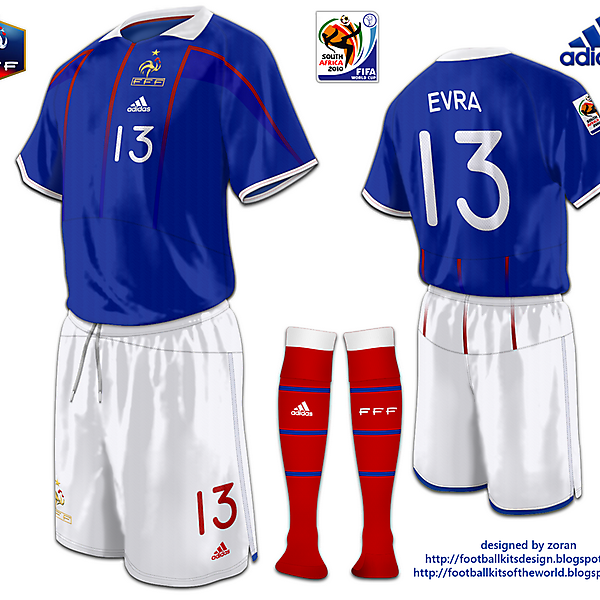 France World Cup 2010 fantasy home