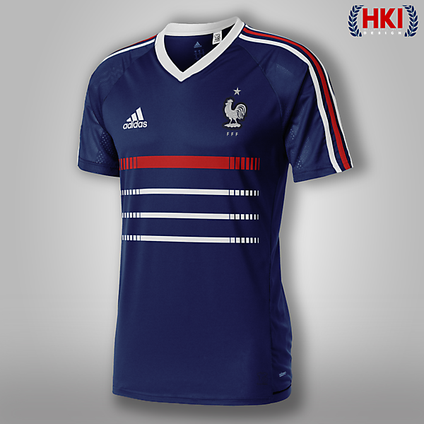 France x Adidas / Classic Home Jersey