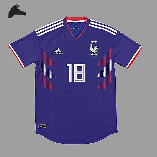 France x Adidas home concept