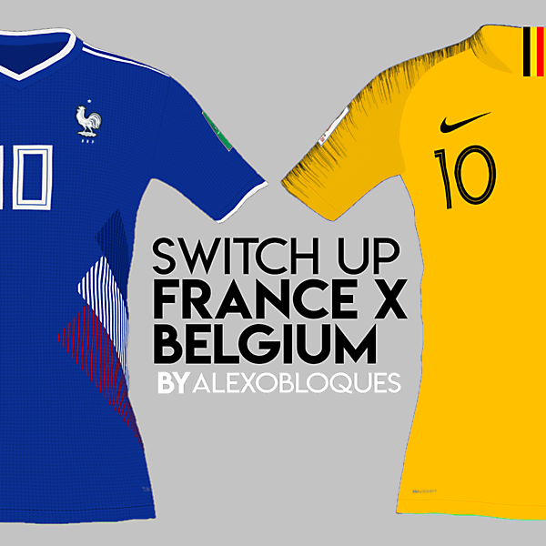 FRANCE X BELGIUM | SWITCH UP