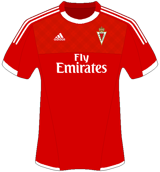 Real Murcia Home - Adidas Shirt