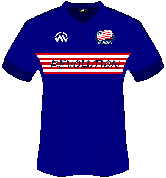 New England Revolution Home - mARTin Kit