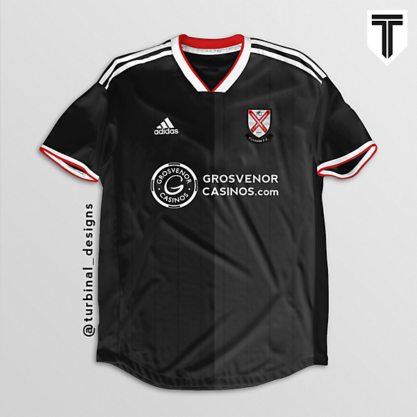 Fulham FC Away Concept Kit