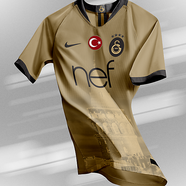 Galatasaray - Third Kit (Galata Tower)