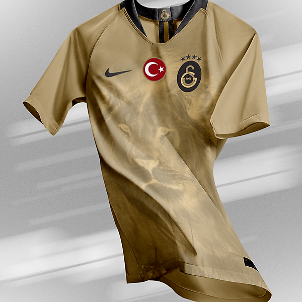 Galatasaray - Third Kit (Lion)