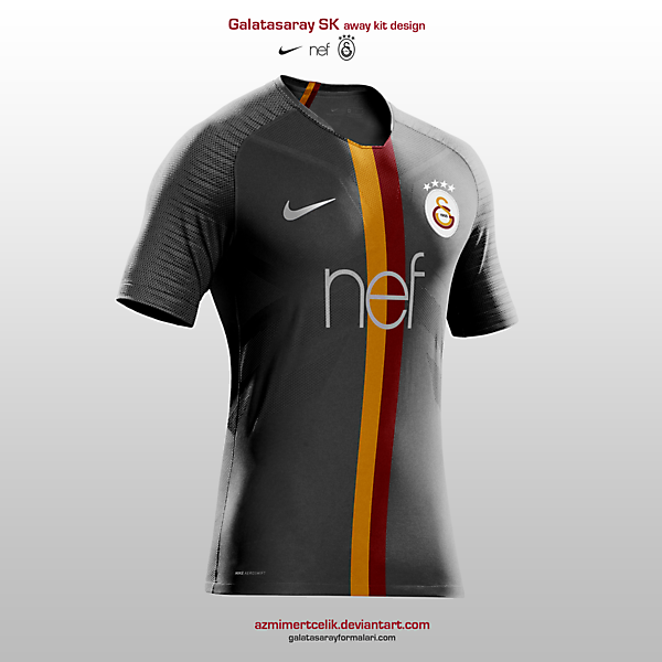 Galatasaray Away Retro Design 5255991ff