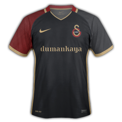 Galatasaray S.K. 2016-17 Away Kit