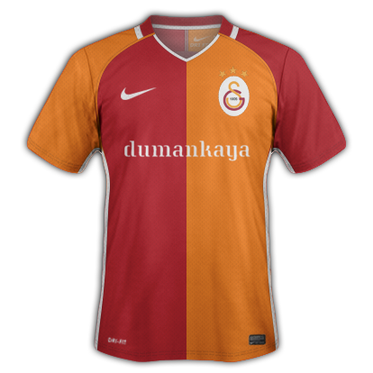 Galatasaray S.K. 2016-17 Home Kit