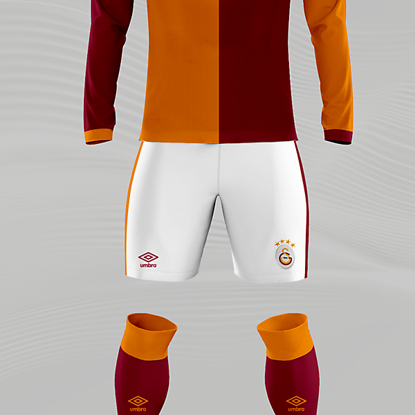 Galatasaray x Umbro Concept Home Kit