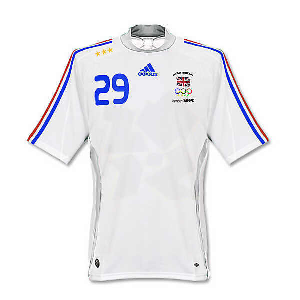 adidas Great Britain 2012 London Olympics Football Shirt
