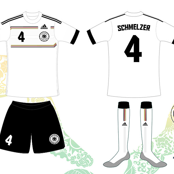 Germany 2014 World Cup Home Shirt