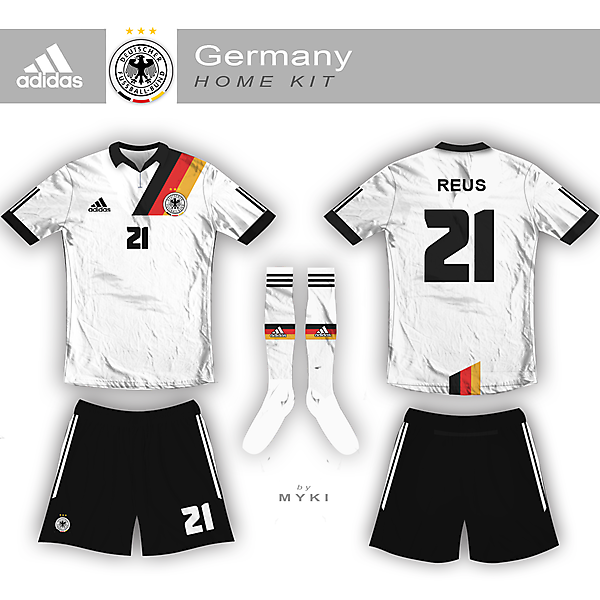 Germany Nation Team Home Kit