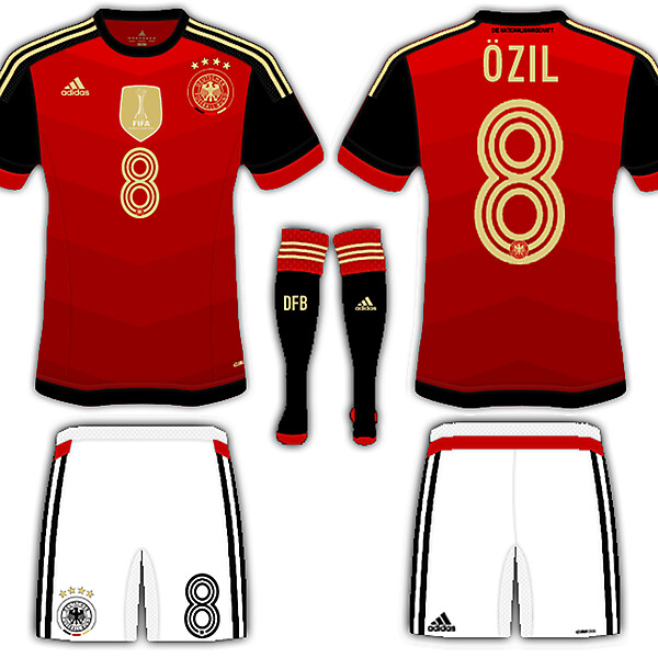 Germany fantasy away kit