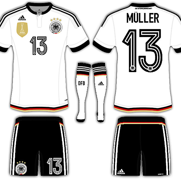 Germany fantasy home kit
