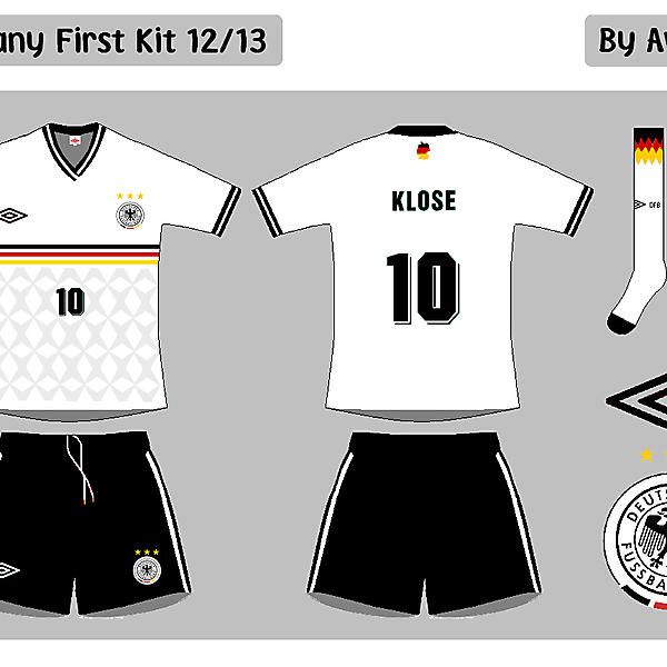 Germany First Kit